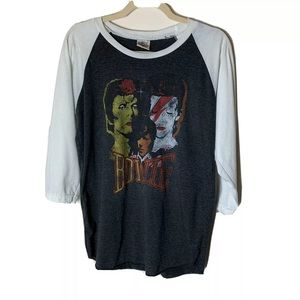 Bunny Bunch Top Size Large David Bowie Graphic T